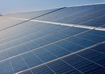 Impianto fotovoltaico celle solari foto 2