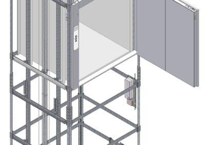 Progetto Montacarichi Typ-MC300